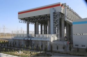 Ningxia Yuanyang lac centrale de condensation de la vapeur d'échappement